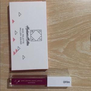 OFRA lipstick AND palette
